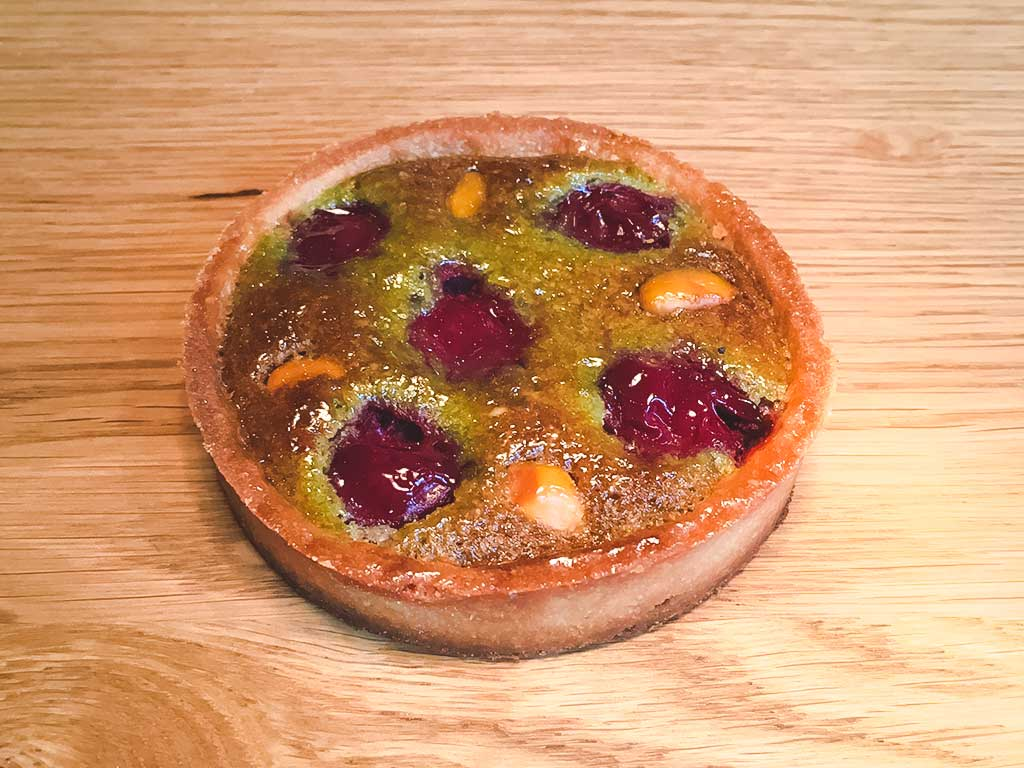 maison-meignan-boulangerie-paris-Tarte griotte pistache
